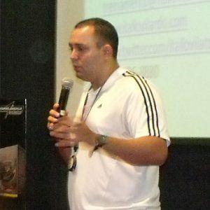 Ítallo Vilardo, preparador físico de atletas de luta