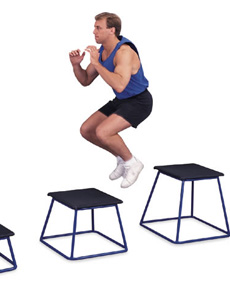 Treinamento físico com exercícios pliométricos