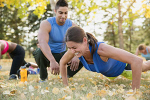 Treinamento físico para concursos