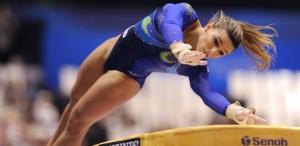 Jade Barbosa, ginasta