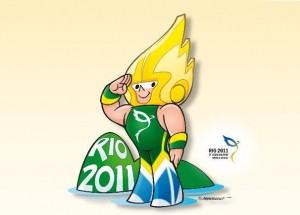 Mascote dos 5º Jogos Mundiais Militares