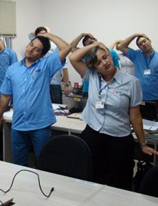 Palestra Atividade física e segurança no trabalho