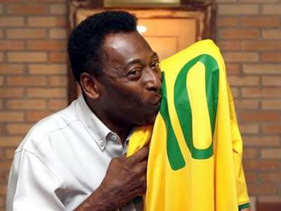 Pelé, embaixador honorário do Brasil para a Copa do Mundo de 2014